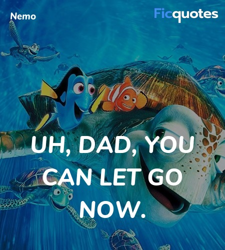 Uh, Dad, you can let go now. image