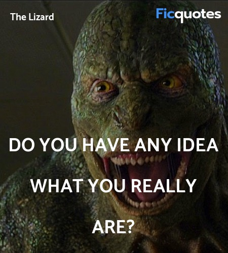 Do you have any idea what you really are? image