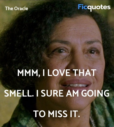 Mmm, I love that smell. I sure am going to miss it. image
