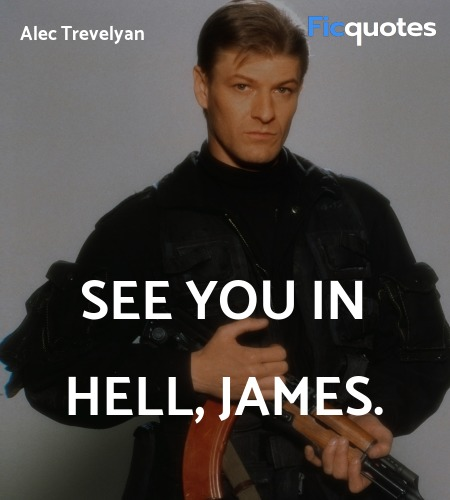 See you in hell, James quote image