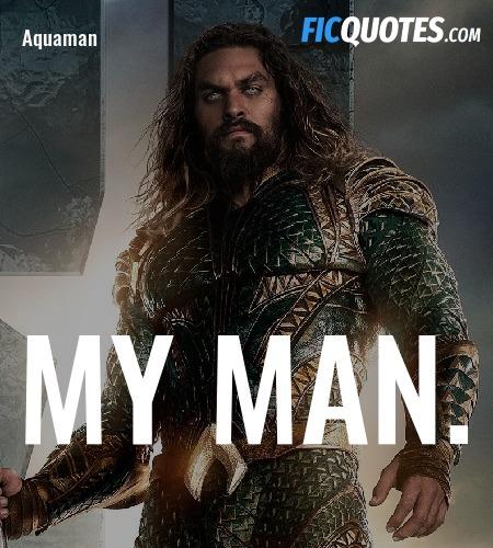 MY MAN quote image