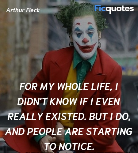 For my whole life, I didn't know if I even really ... quote image