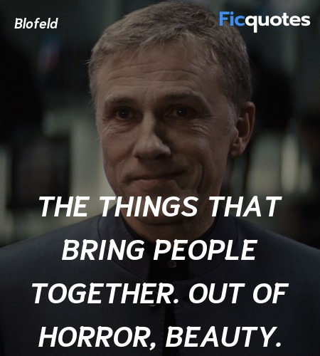 The things that bring people together. Out of ... quote image