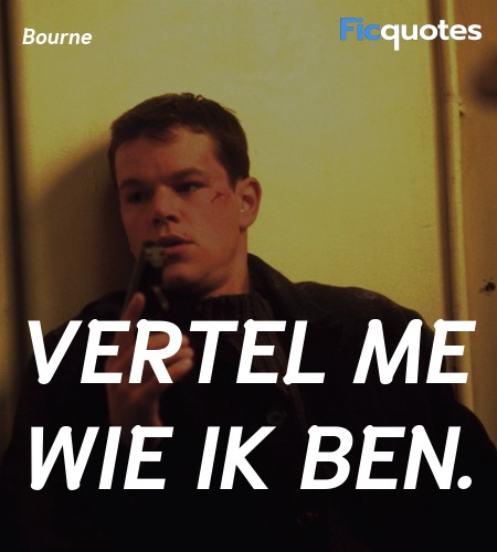 The Bourne Identity 2002 Quotes Top The Bourne Identity 2002 Movie Quotes