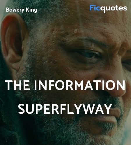 The information superflyway quote image