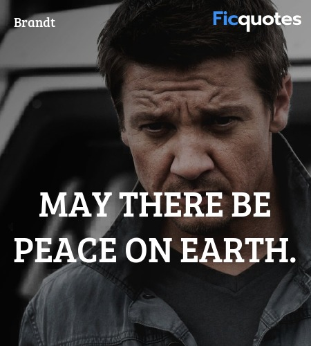 May there be peace on Earth quote image