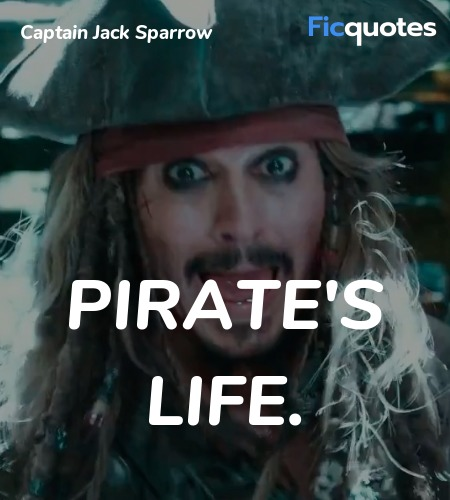Captain Jack Sparrow Quotes - Pirates Of The Caribbean: Dead ...