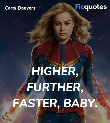Higher, further, faster, baby. image