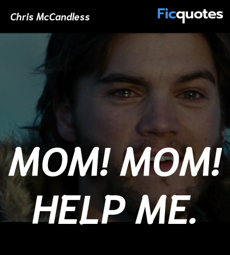 Mom! Mom! Help me quote image