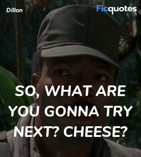 So, what are you gonna try next? Cheese? image