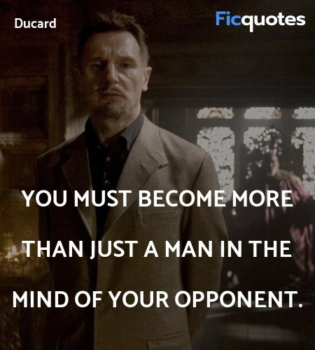 You must become more than just a man in the mind ... quote image
