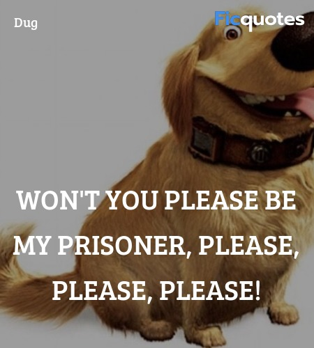 Won't you please be my prisoner, please, please, please! image