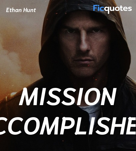Ethan Hunt Quotes Mission Impossible Ghost Protocol 2011