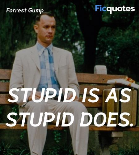 Forrest Gump Quotes Forrest Gump 1994