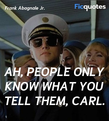 Ah, people only know what you tell them, Carl. image