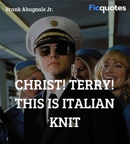 Christ! Terry! This is Italian knit image