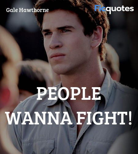 People wanna fight! image
