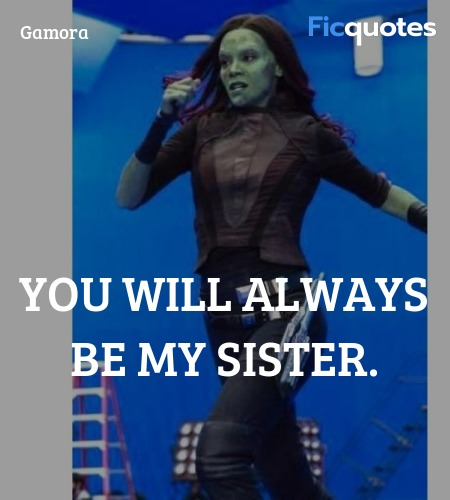 You will always be my sister quote image