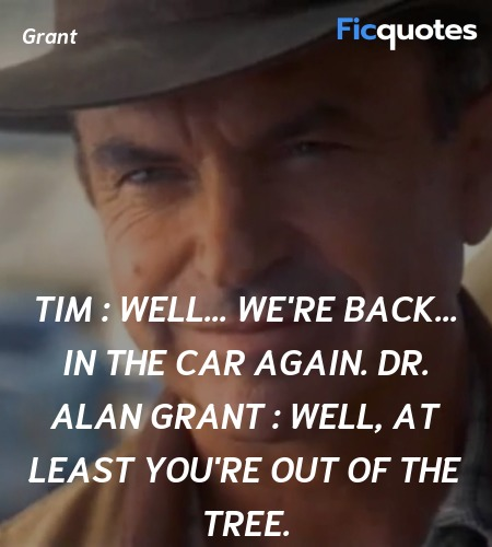 Tim :   Well... we're back... in the car again.