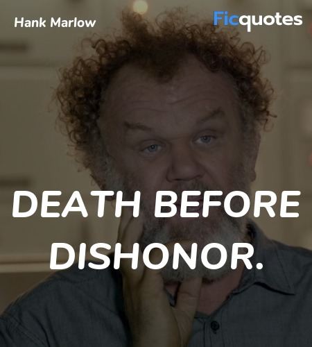 Death before Dishonor quote image