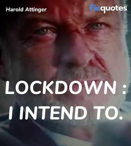 Lockdown : I intend to quote image