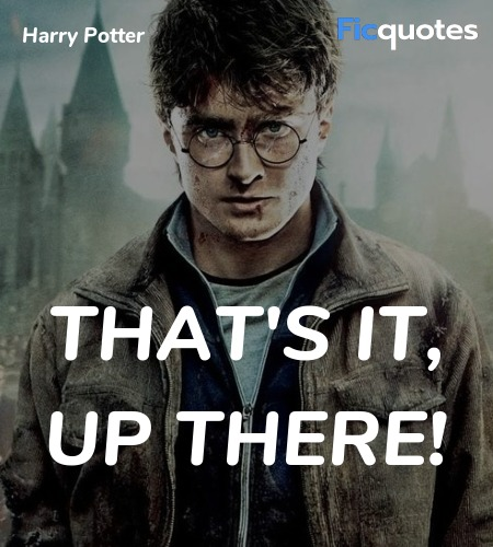 That's it, up there quote image