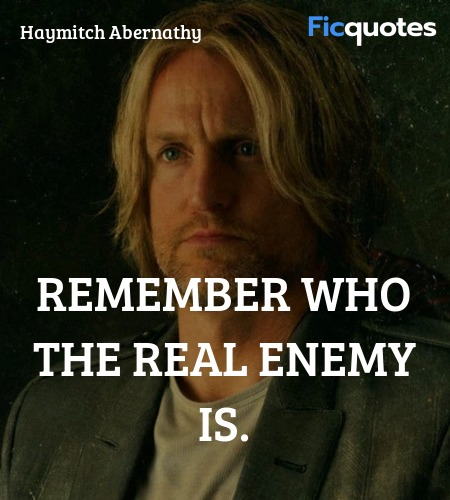 Haymitch Abernathy Quotes - The Hunger Games: Catching Fire (2013)