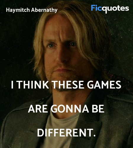 I think these games are gonna be different quote image
