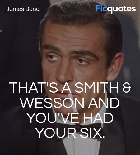 James Bond in Dr. No (1962)