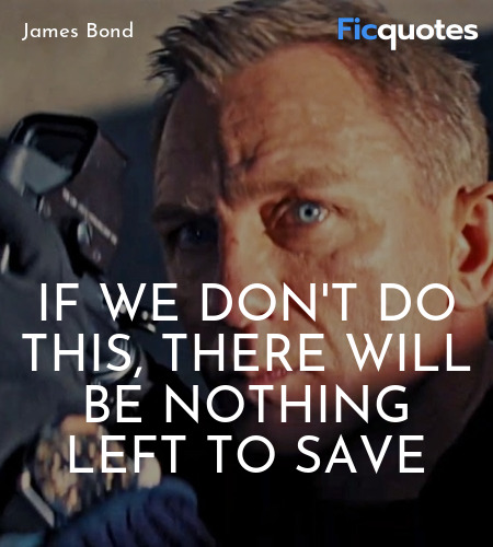 James Bond in No Time to Die