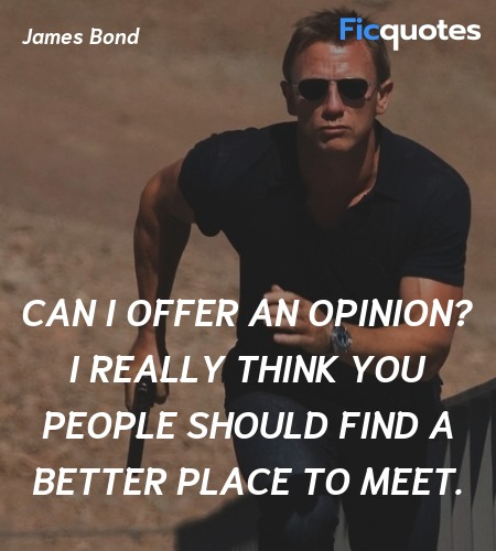 Can I offer an opinion? I really think you people should find a better place to meet. image