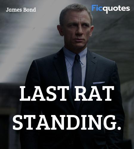 Last rat standing quote image
