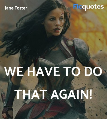 We have to do that again quote image
