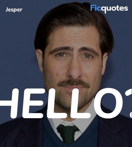 Hello quote image