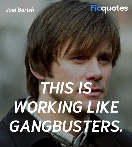 This is working like gangbusters quote image
