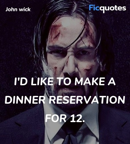 I'd like to make a dinner reservation for 12... quote image