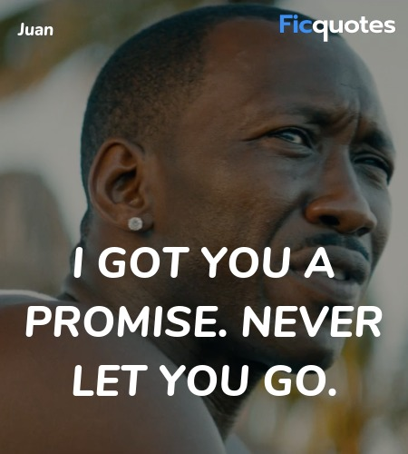 I got you a promise. Never let you go. image