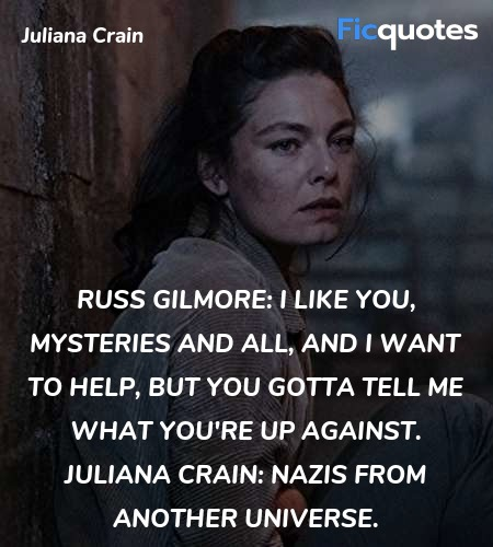 Nazis from another universe quote image