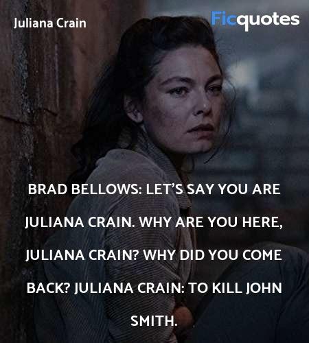 To kill John Smith quote image