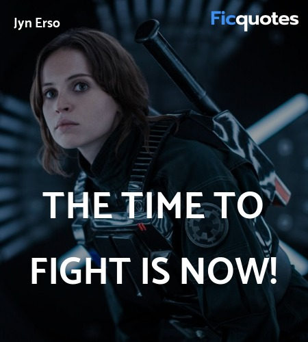 The time to fight is now! image