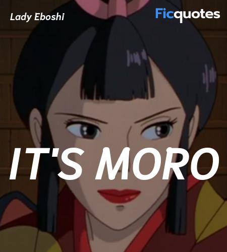 It's Moro image