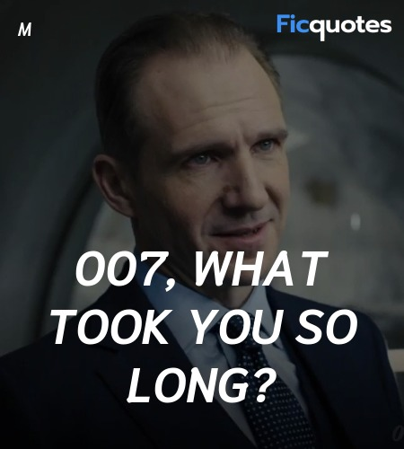 007, what took you so long quote image