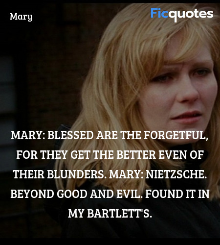 Nietzsche. Beyond Good and Evil. Found it in my ... quote image