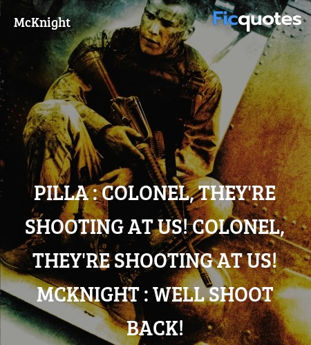 Well shoot back quote image