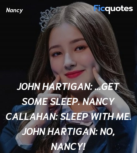 No, Nancy quote image