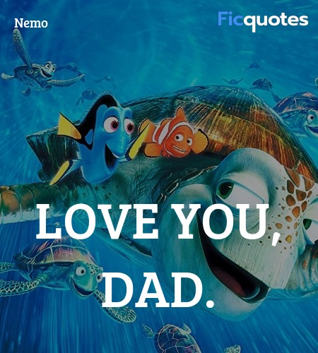 Love you, Dad. image