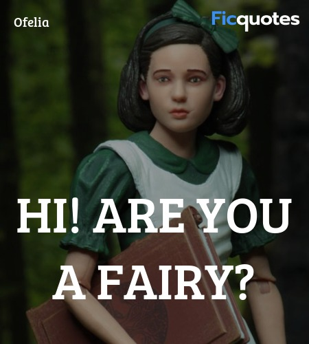 Hi! Are you a fairy quote image