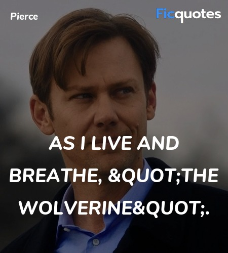 As I live and breathe,
