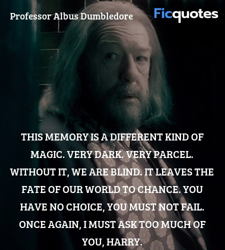 This memory is a different kind of magic. Very ... quote image