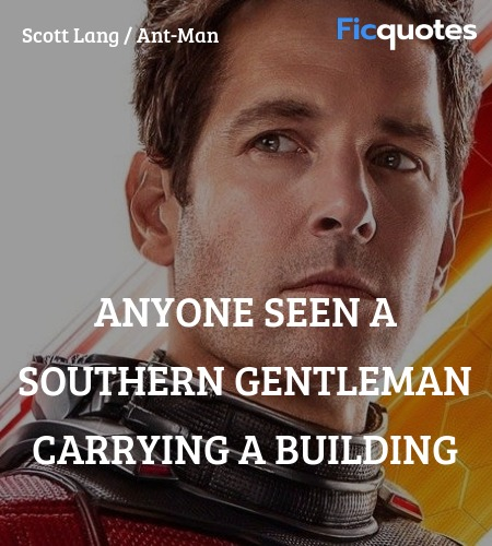 Anyone seen a Southern gentleman carrying a building image